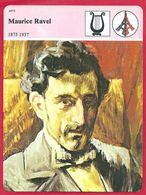 Maurice Ravel, Compositeur, Musique Classique, Arts, Daphnis Et Cloé,  Rhapsodie Espagnole, 1875 1937 - Histoire