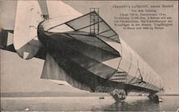 ! Alte Ansichtskarte Zeppelin , Luftschiff, Friedrichshafen, Bodensee, DIRIGEABLE - Dirigibili