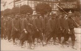 ! Alte Fotokarte Photo, Kriegsgefangene Franzosen, Prisonniers Of War, 1. Weltkrieg, 1914, Ohrdruf, Militaria - Guerre 1914-18
