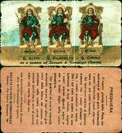 9125a) Immaginetta   Santi Alfio, Cirino,filadelfo - Saints