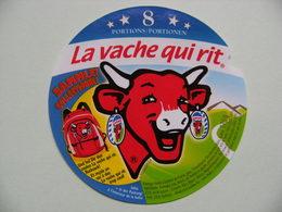 """Etiquette Fromage Fondu - Vache Qui Rit - Bel 8 Portions Pub """"Sac à Dos Trop Cool"""" Export    A Voir ! - Cheese"""