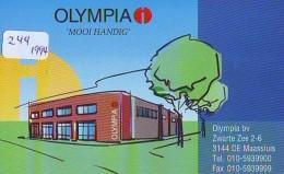 NEDERLAND CHIP TELEFOONKAART CRE 244 1994 * Olympia * Telecarte A PUCE PAYS-BAS * ONGEBRUIKT MINT - Netherlands