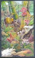 H64- China Taiwan 2013 Mushrooms S/Sheet. - Champignons