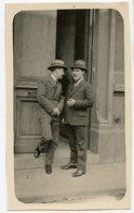 Jeune Homme  Young Man Men Costume  Chapeau 20s 30s Beauty Elegance Conversation Pose Portrait - Anonymous Persons