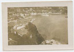 Cote D'azur à Situer Identifier Scan Dos 1939 Ww2 Vue Aerienne Plongée Mer 30s Port - Places