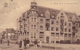 Knocke Zoute, Knokke, Le Zoute, La Digue Et Le St George's Hotel (pk47836) - Knokke