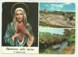 SIRACUSA - MADONNA DELLE LACRIME  - VIAGGIATA FG - Siracusa