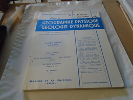 L'AFAR NUMERO SPECIAL AVEC CNRS GEOGRAPHIE PHYSIQUE ET GEOLOGIE DYNAMIQUE 1973 - Sciences