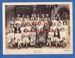 Photo Ancienne - LILLE - Lycée Fénélon - Classe De Fille - Professeur à Identifier - Photographe Tourte & Petitin - Professions