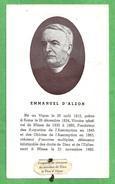 S.d..D. EMMANUEL D'ALZON - CON RELIQUIA - E - PR - Mm. 75 X 125 - Religione & Esoterismo