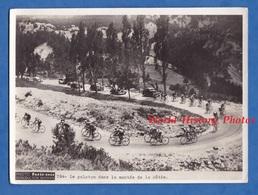 Photo Ancienne - LA BÂTIE ( Hautes Alpes ) - Tour De France - Le Peloton Dans La Montée - Gap Vélo Auto Cyclisme - Cycling