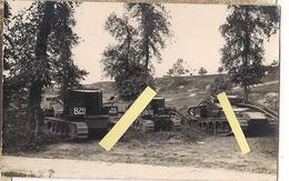 1918 Flandres Flandern Somme Oise Nord Tank Chars Whippet Anglais, Mark V Male Blindée  Carte Photo Ww1 14-18 1914/1918 - War, Military
