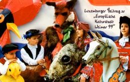 *LUSSEMBURGO* - Scheda A Chip Usata - Lussemburgo