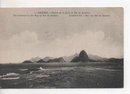 Cpa.Brésil.Entrée De La Baie De Rio De Janeiro. - Rio De Janeiro