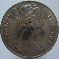 Fiji 10 Cents 1969 AUNC - Fiji