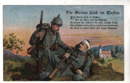 Nr.+  776,    Die Sonne Sank Im Westen - War 1914-18