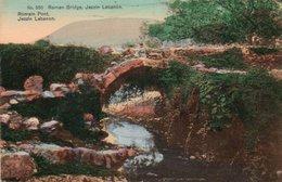 86Mrn  Liban Jezzin Lebanon Roman Bridge Pont Romain - Lebanon