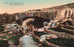 86Mrn  Liban Lebanon Natural Bridge Pont Naturel - Lebanon
