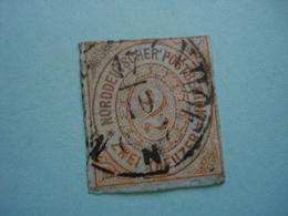 Norddeutscher Postbezirk Allemagne Du Nord Timbre Poste 2 Groschen - Conf. De L' All. Du Nord