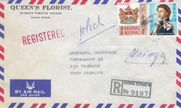 Brief Von Hong Kong Nach Deutschland - China (Hong Kong)