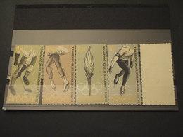 BURUNDI - 1964 GIOCHI SPORTIVI 5 VALORI(20 Con Piccola Spellatura) -NUOVI(++) - 1962-69: Nuovi