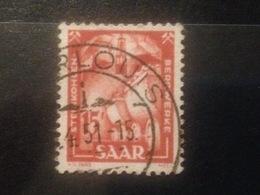 SARRE - 1950 - Oblitéré - 1947-56 Allierte Besetzung