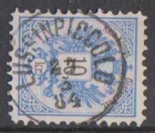 LUSSINPICCOLO (Mali Lošinj) On 10 Kr., Issue 1883 - 1850-1918 Empire