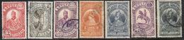 Ethiopia, Scott # 232-8 Used Various Subjects, 1931 - Ethiopia