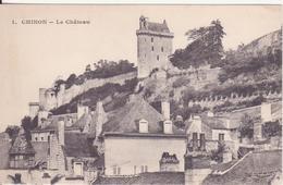 CPA - 1. CHINON Le Château - Chinon