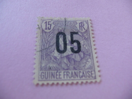 TIMBRE   GUINÉE     N  57     COTE  1,20  EUROS    OBLITÉRÉ - Oblitérés