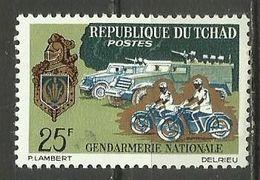 Czad ,Police , MNH - Chad (1960-...)