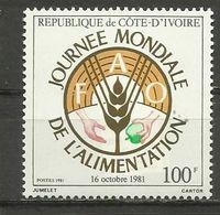Ivory Coast , FAO , MNH - Ivory Coast (1960-...)