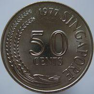 Singapore 50 Cents 1977 UNC - Singapur