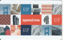UK - Spend Me, GAP Magnetic Gift Card, Unused - Gift Cards