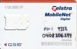 AUSTRALIA - Telstra GSM, Used - Australia