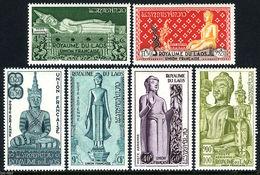 H93- Laos 1953 Air Post Stamps. Buddha Statues. - Laos