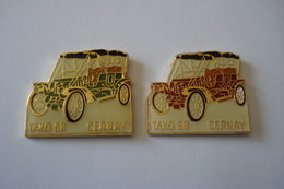 20180620-1829 ALSACE HAUT RHIN CLUB DE VOITURES ANCIENNES « TAKO 68 » CERNAY - Badges