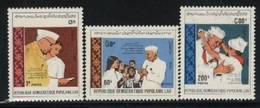 H95- Laos 1989 Jawaharlal Nehru Birth Centenary - Laos