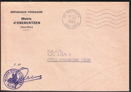 France Rouffach 1981 / Mairie De Oberentzen - 1961-....