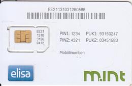 ESTONIA - Elisa GSM, Used - Estonia