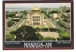 Brasil - Manaus Am - Praca Sao Sebastiao - Teatro Amazonas - Manaus