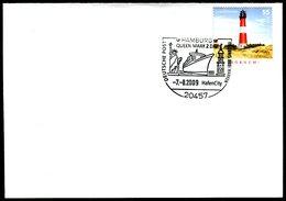 41080) BRD - Brief Mi 2613 - SoST 20457 HAMBURG Vom 07.08.2009 - QUEEN MARY 2 DAY - BRD