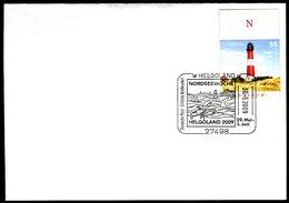41082) BRD - Brief Mi 2613 - SoST 27498 HELGOLAND Vom 30.05.2009 - Nordseewoche, Hummer - BRD