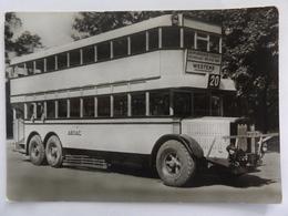 Berliner Verkehrsmittel, Autobus, Typ Büssing, Dreilachs, Baujahr 1927 - Bus & Autocars