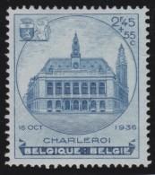 Belgie    .   OBP  .   437      .     **  .     Postfris  ZONDER  Charnier   .  /  .  Neuf  SANS Charniere - Belgique