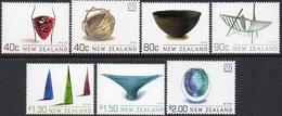 H110- New Zealand 2002 Art Meets Craft. Glass. Silver. - New Zealand