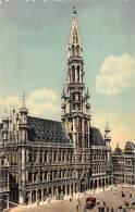 BRUXELLES - Grand'Place - Hôtel De Ville - Marktpleinen, Pleinen