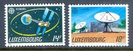 H115- Luxembourg 1991. EUROPA. Satellite. - Europa-CEPT