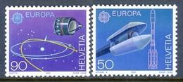 H117- Switzerland Helvetia 1991. EUROPA. Space. Setlite. - Europa-CEPT