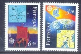 H118- Féroé Føroyar 1991. EUROPA. Space. Satellite. - Europa-CEPT